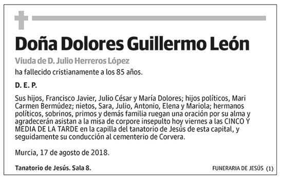 Dolores Guillermo León