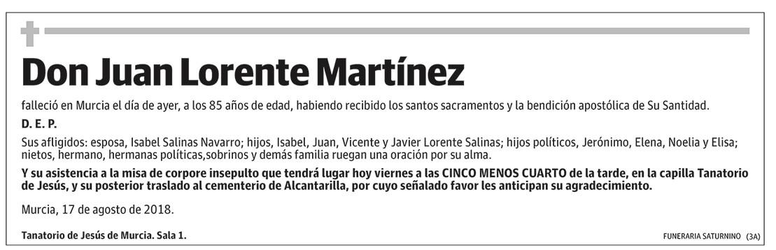 Juan Lorente Martínez