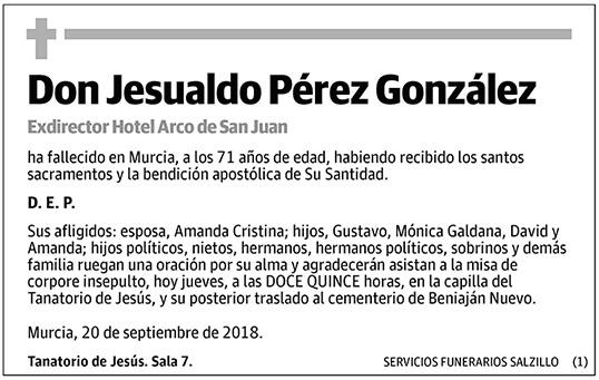 Jesualdo Pérez González