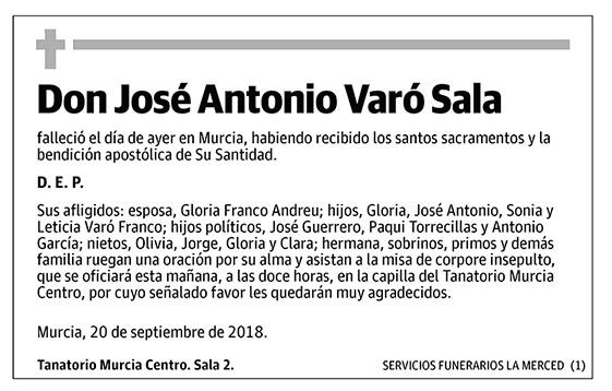 José Antonio Varó Sala