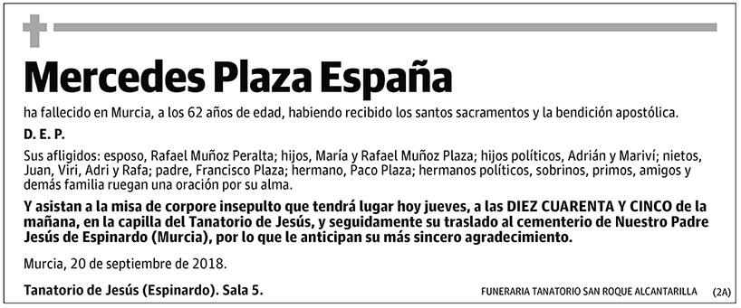 Mercedes Plaza España