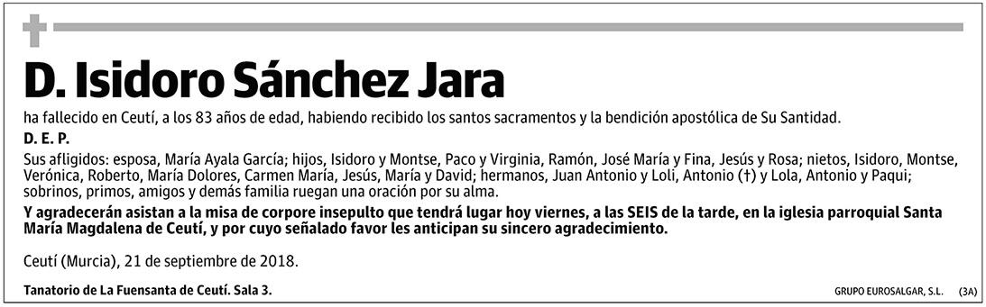 Isidoro Sánchez Jara