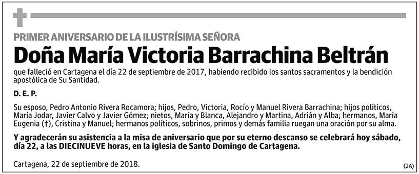 María Victoria Barrachina Beltrán