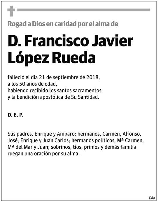 Francisco Javier López Rueda
