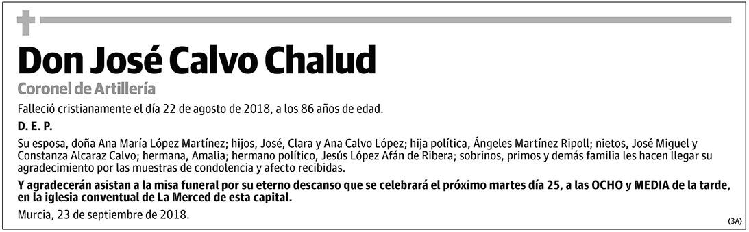 José Calvo Chalud