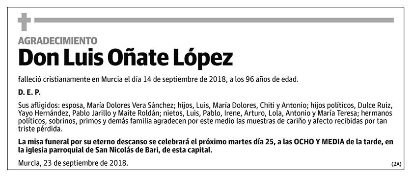 Luis Oñate López