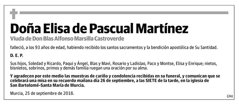 Elisa de Pascual Martínez