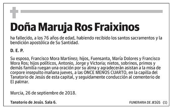 Maruja Ros Fraixinos