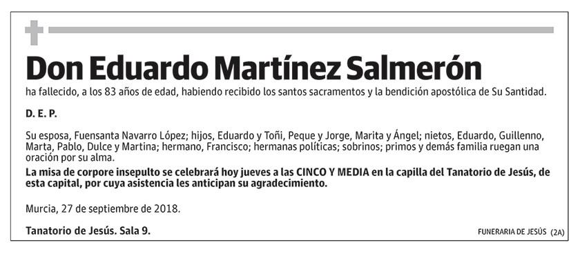 Eduardo Martínez Salmerón