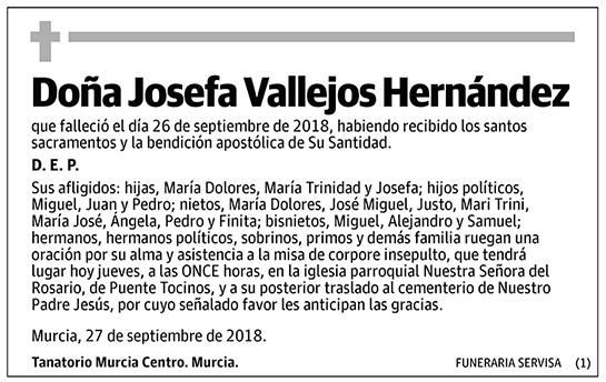 Josefa Vallejos Hernández