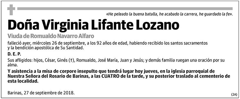 Virginia Lifante Lozano