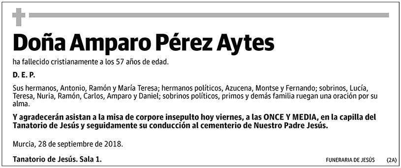 Amparo Pérez Aytes