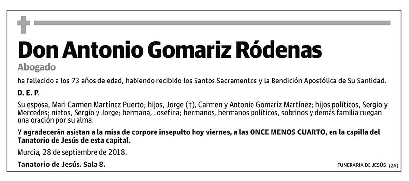 Antonio Gomariz Ródenas