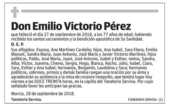 Emilio Victorio Pérez