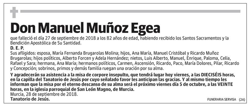 Manuel Muñoz Egea