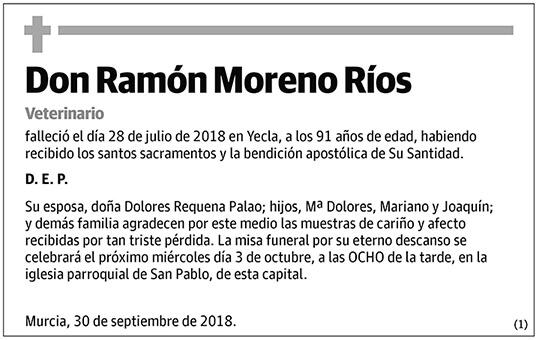 Ramón Moreno Ríos