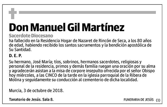 Manuel Gil Martínez