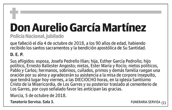 Aurelio García Martínez