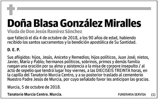 Blasa González Miralles