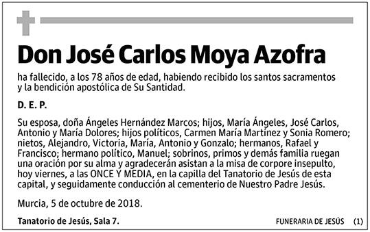 José Carlos Moya Azofra
