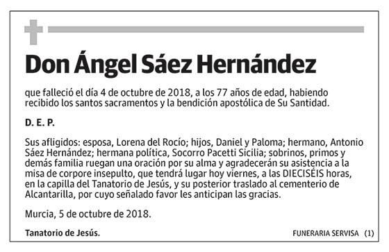 Ángel Sáez Hernández