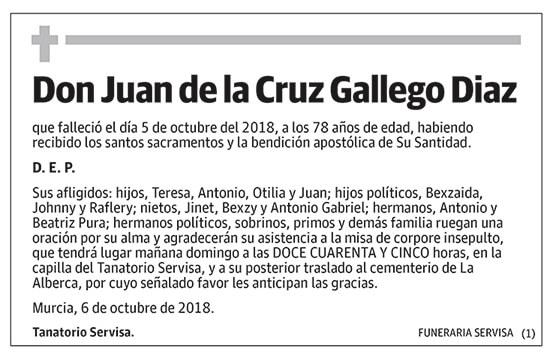 Juan de la Cruz Gallego Diaz
