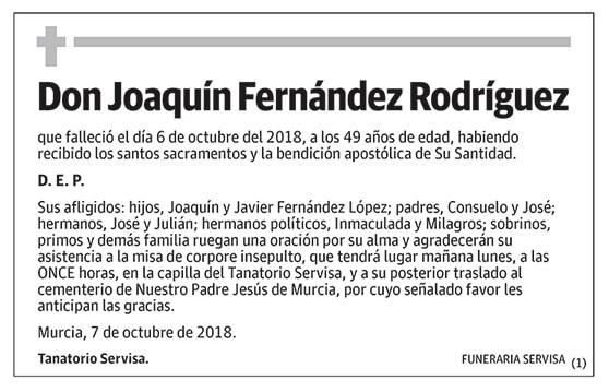 Joaquín Fernández Rodríguez