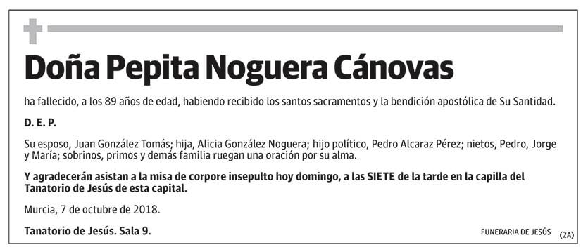 Pepita Noguera Cánovas