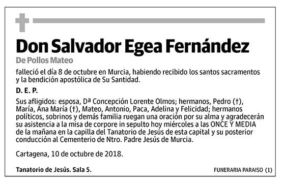 Salvador Egea Fernández
