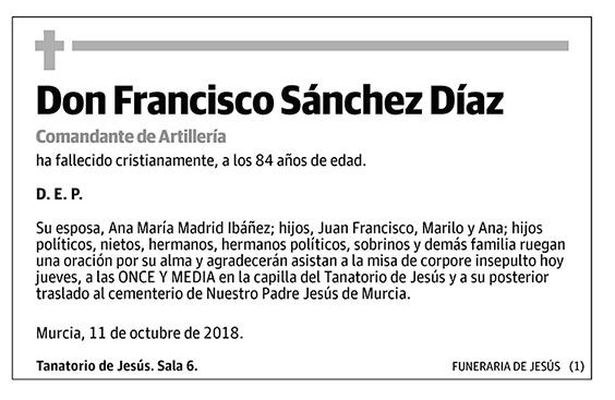 Francisco Sánchez Díaz