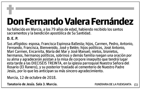 Fernando Valera Fernández
