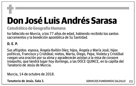 José Luis Andrés Sarasa