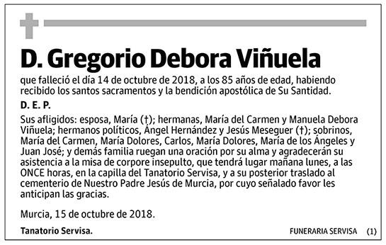 Gregorio Debora Viñuela