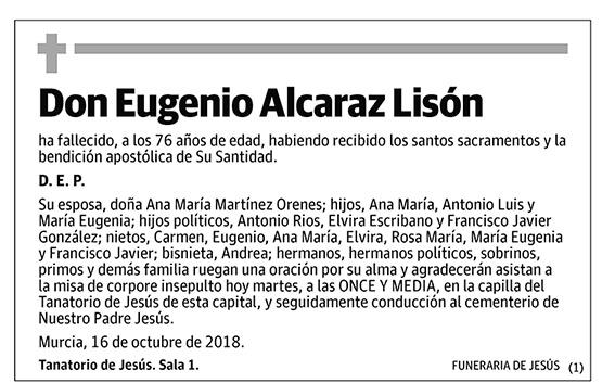 Eugenio Alcaraz Lisón