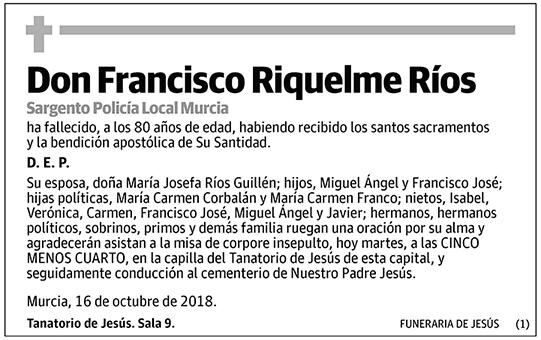 Francisco Riquelme Ríos