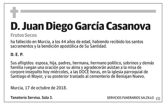 Juan Diego García Casanova