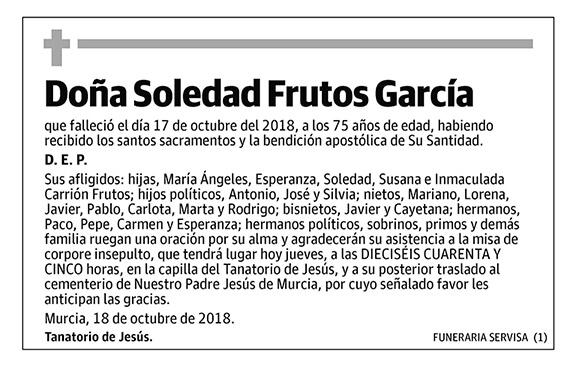 Soledad Frutos García