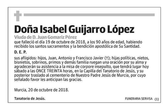 Isabel Guijarro López
