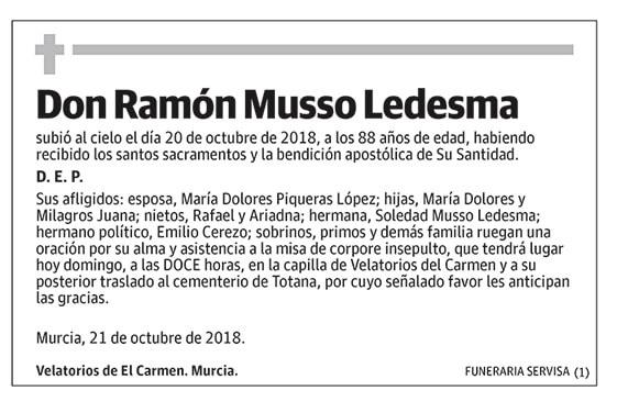 Ramón Musso Ledesma