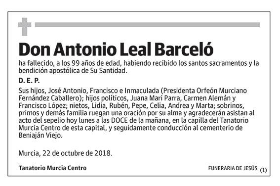 Antonio Leal Barceló