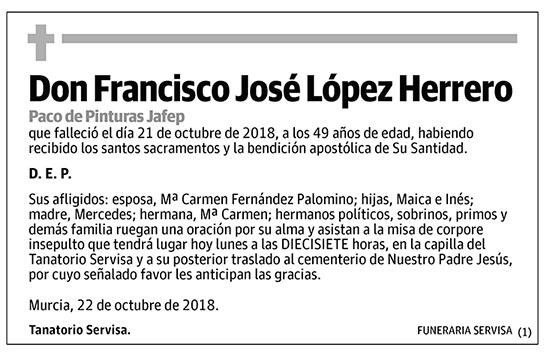 Francisco José López Herrero