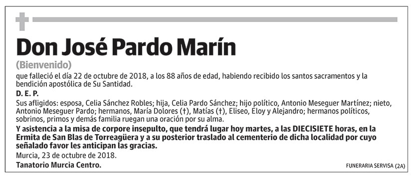 José Pardo Marín