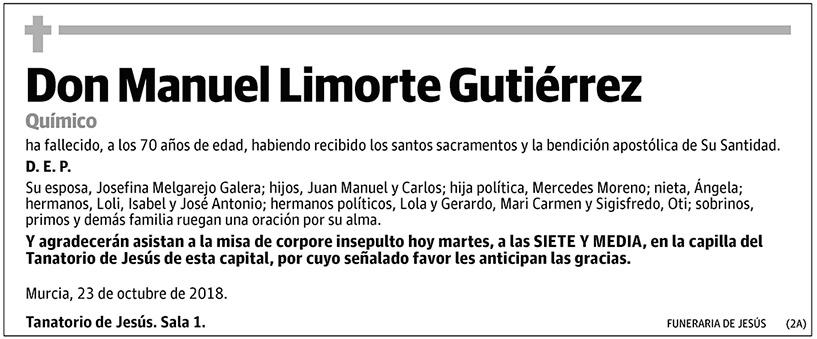 Manuel Limorte Gutiérrez