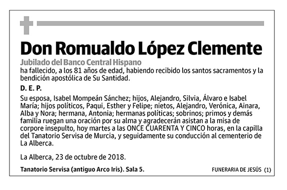 Romualdo López Clemente