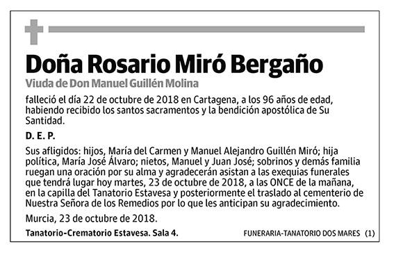 Rosario Miró Bergaño
