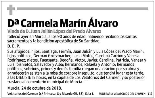 Carmela Marín Álvaro