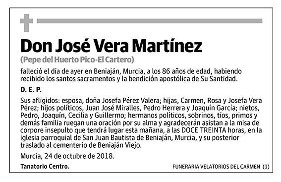 José Vera Martínez