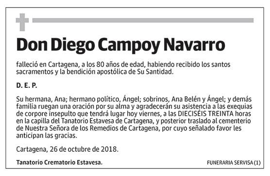 Diego Campoy Navarro