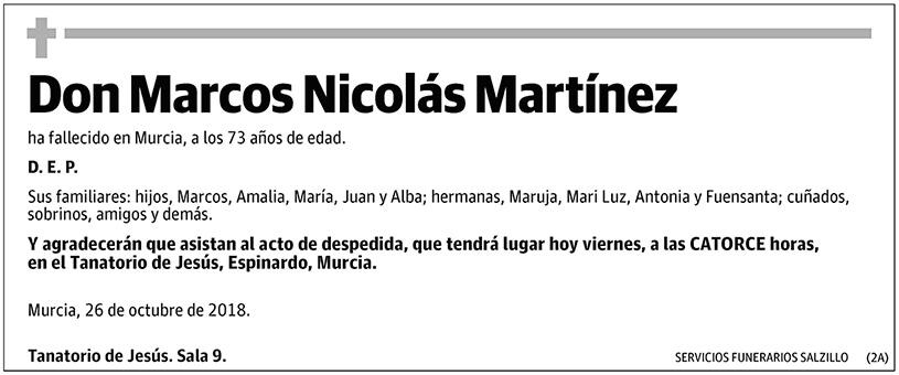 Marcos Nicolás Martínez