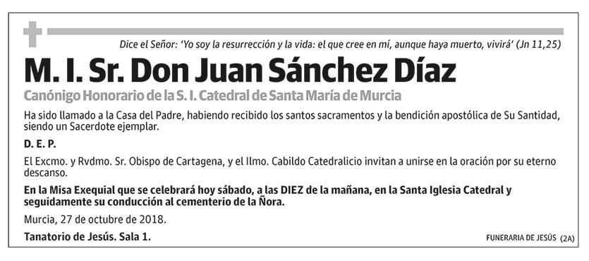 Juan Sánchez Díaz